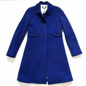 JCREW Madeline Jacket Coat 0 Thinsulate Royal Blue